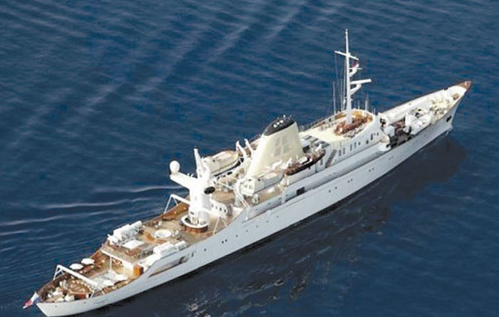 Former Onassis Yacht for Sale at $32.4 Million