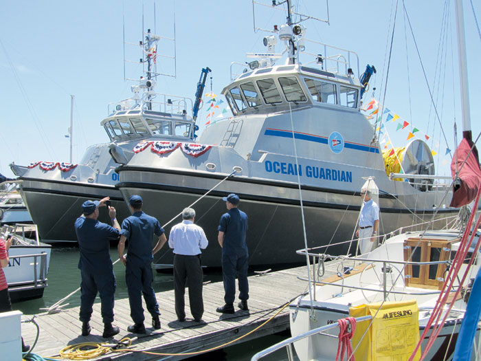 Ventura Harbor Now Home to Fleet of Oil Recovery Vessels