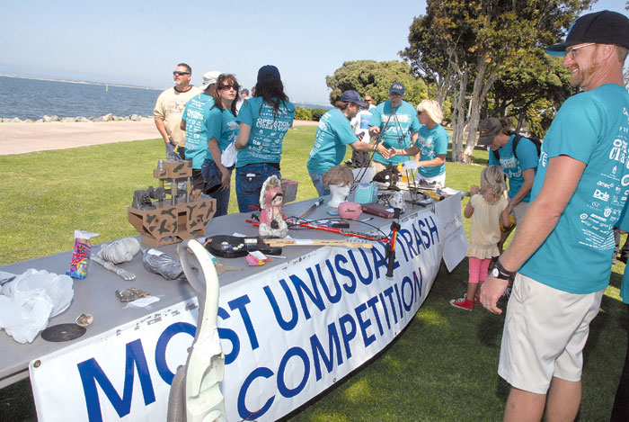 Bay Cleanup Finds Everything But the Kitchen Sink
