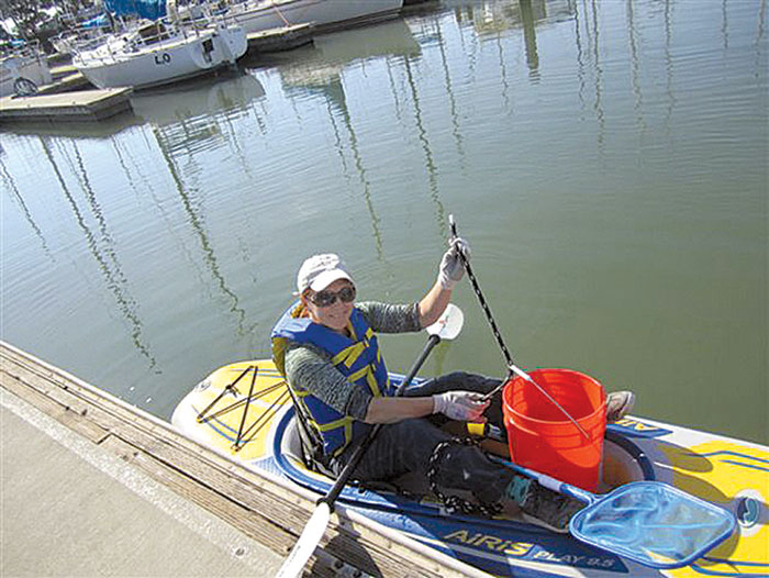 Boaters Aid in California Coastal Cleanup