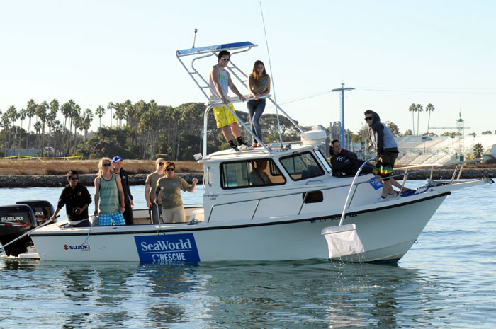 Boaters, Volunteers Clean Up Mission Bay