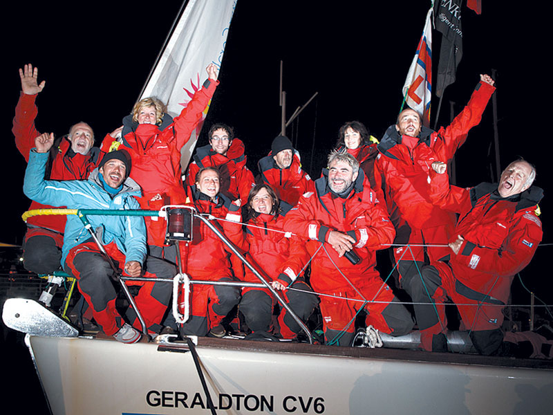 Injured Sailors Rescued off California During Round the World Race