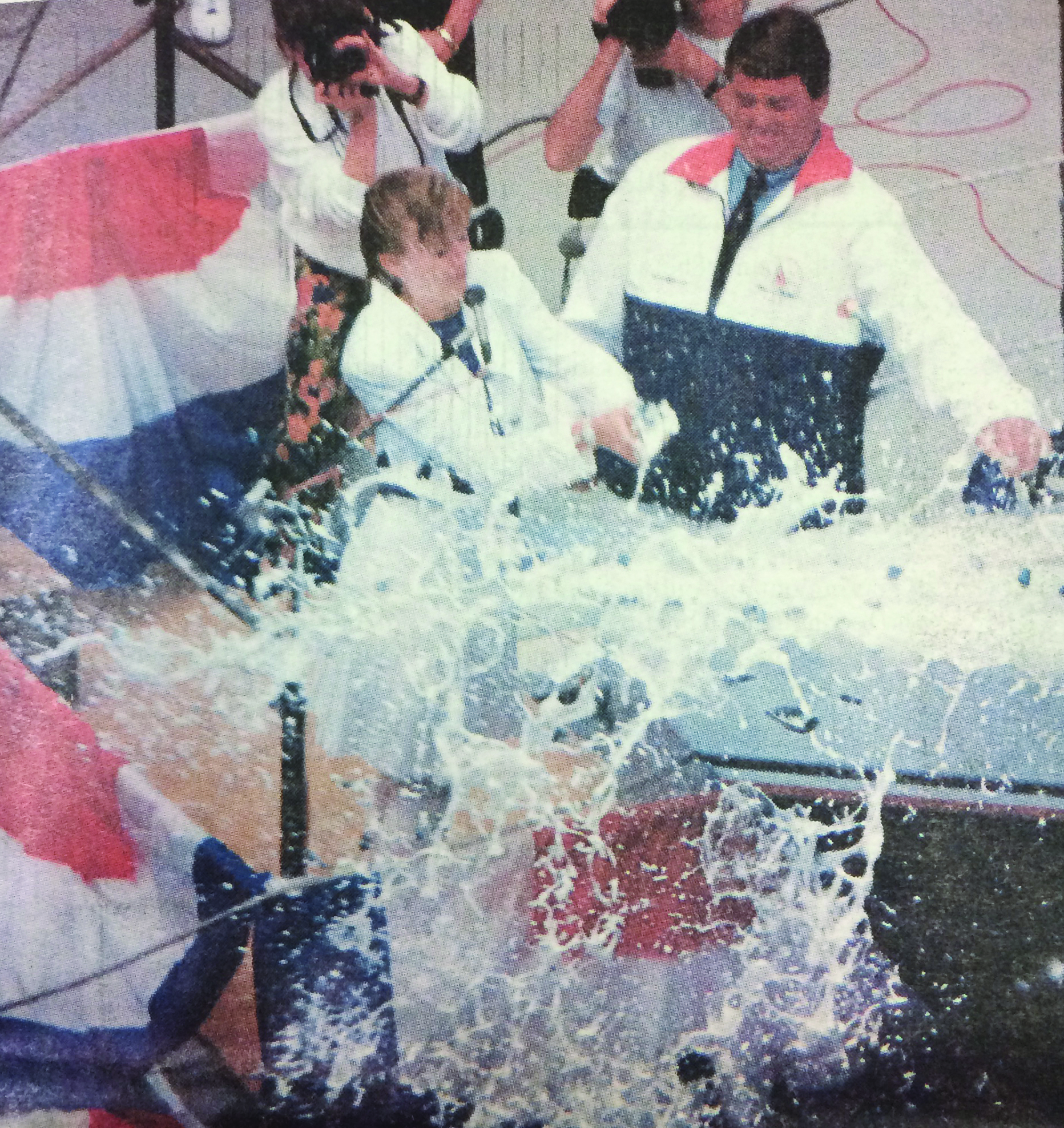 1991: Conner christens first American Cup-Class yacht