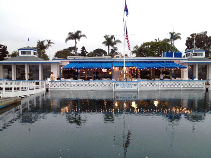 Coronado YC Participates in Boat Operation Study