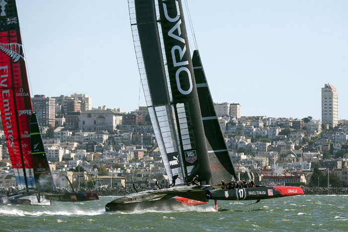 Kiwis Need Just 1 Race Win to Take America's Cup