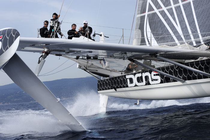French Hydrofoil Preps for Transpac Record Attempt