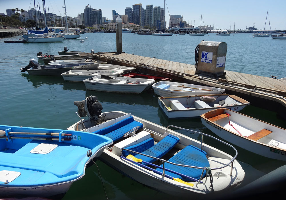 Dock Lines: Safe dockage for your dinghy in San Diego and Mission bays