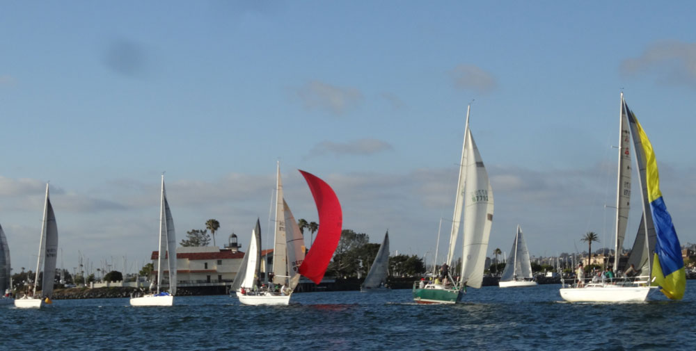 Beer Can Races grace San Diego Bay Wednesday evenings
