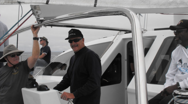 Anacapa YC honors disabled vets with boat rides