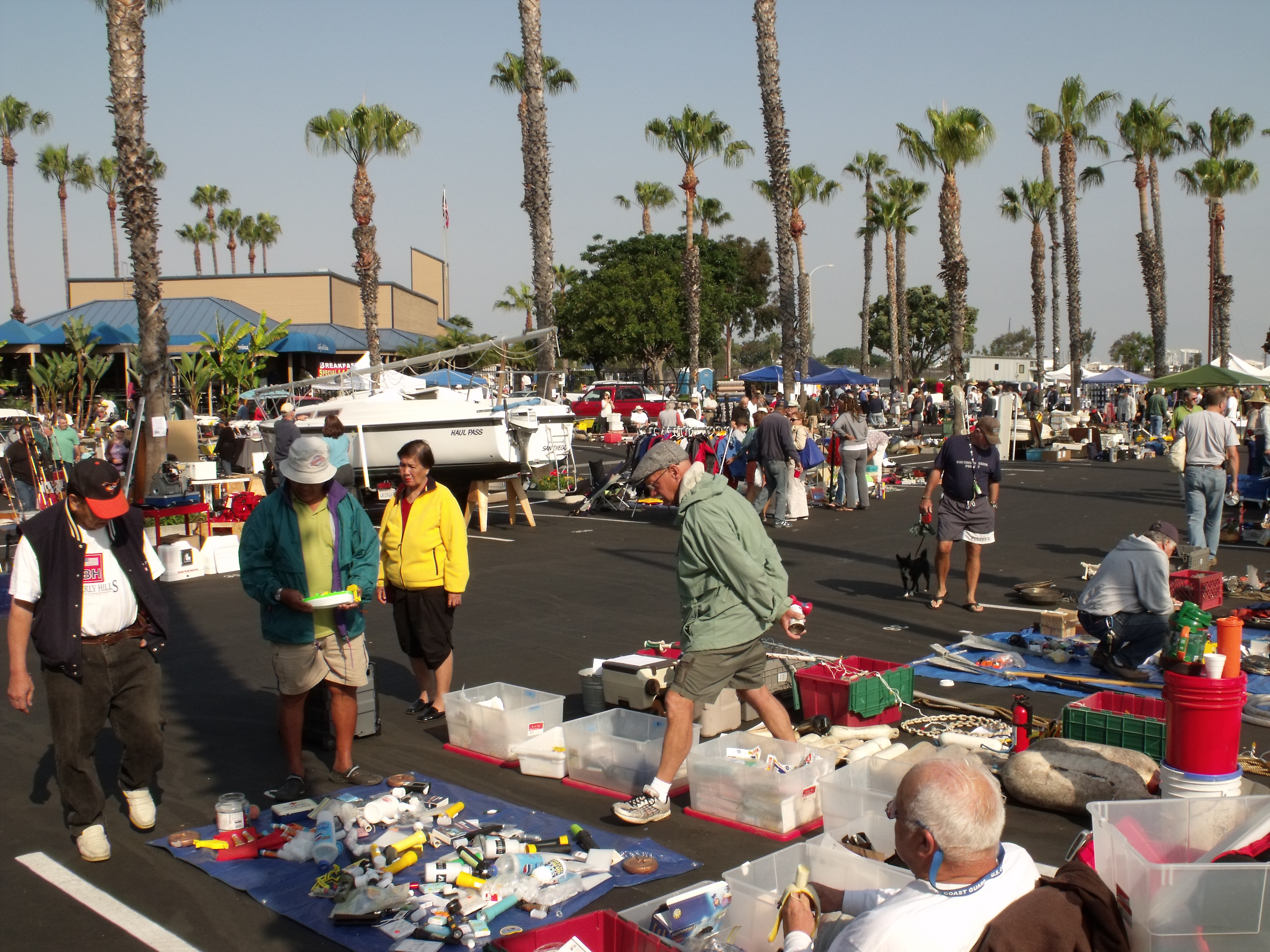 Chula Vista Hosts Marine Gear Swap Meet