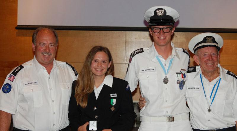 2 OC teens earn highest Sea Scout honors