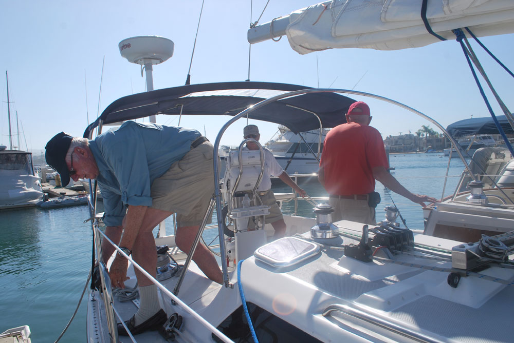 Seniors take the high seas with Oasis Sailing Club