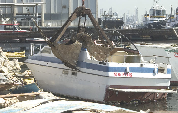 State Senate Bill Would Foster Free Vessel Disposal
