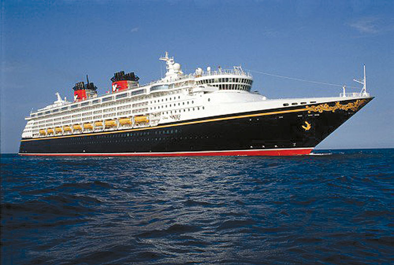 Disney Wonder Leaving Port of L.A. for Miami