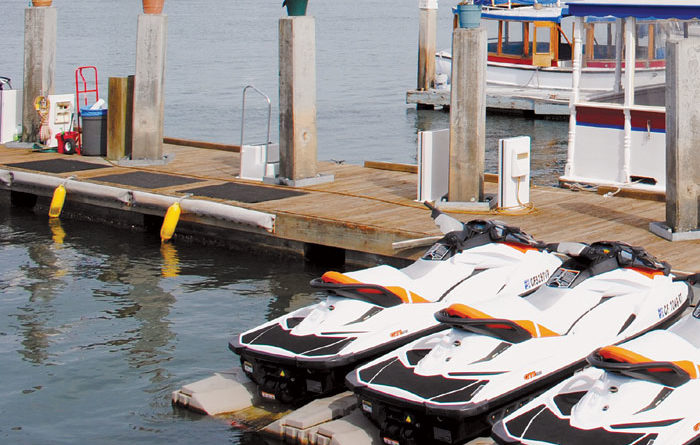 Thieves Reportedly Sneak Away with 32-foot Dock