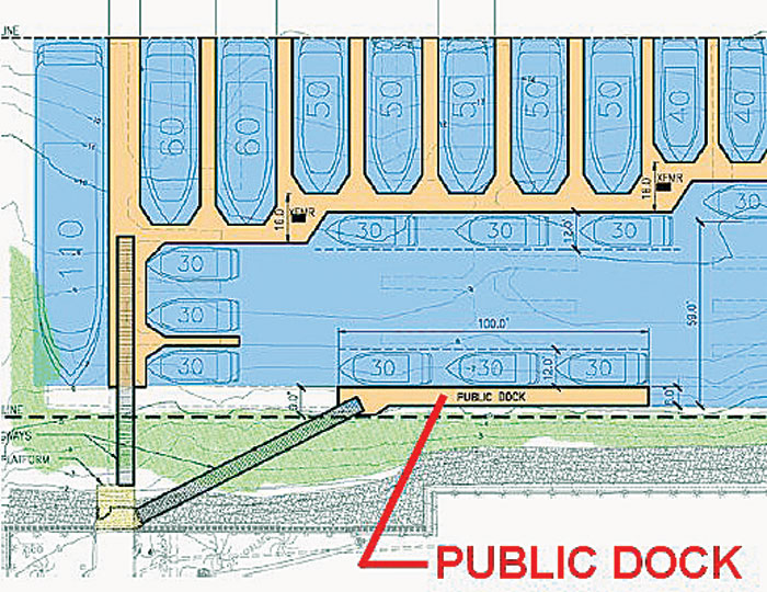 Public Dock Sought for Boaters at Glorietta Bay