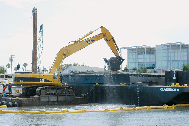 Newport Harbor Ready for Dredging