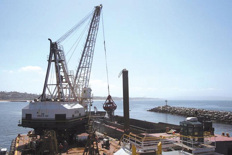 Dredging Continues at Marina del Rey