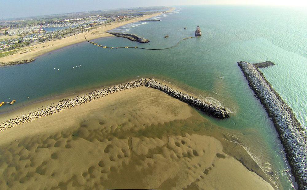 Major dredging effort underway at Ventura Harbor
