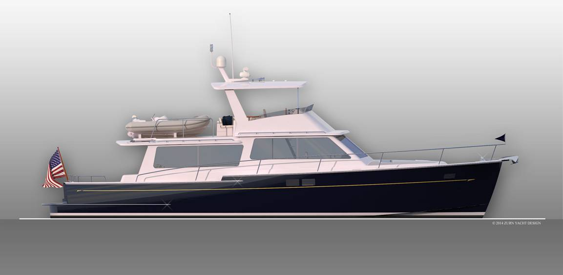 Duffy Innovator to Launch 58-foot Offshore Cruiser