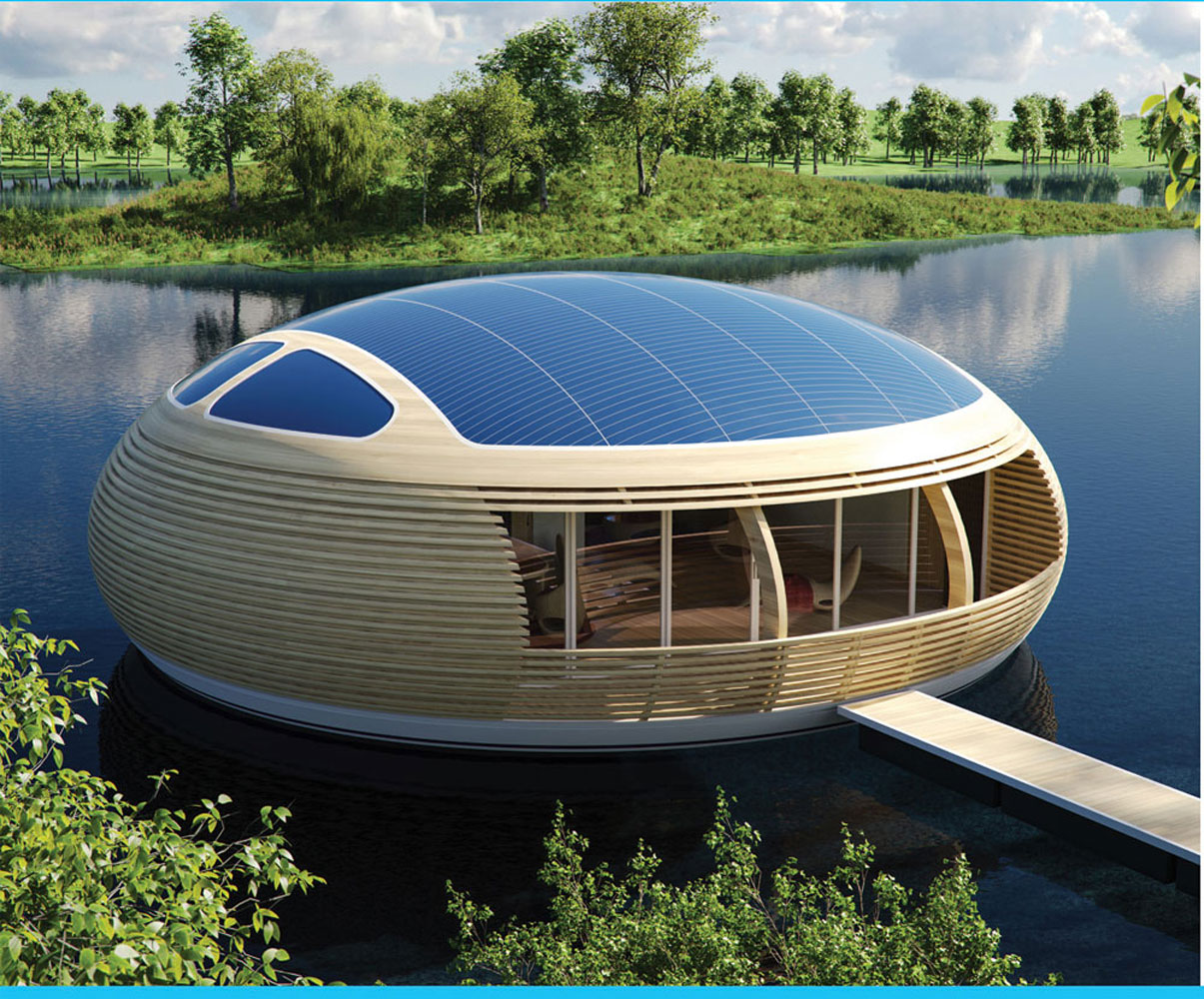 A new type of houseboat