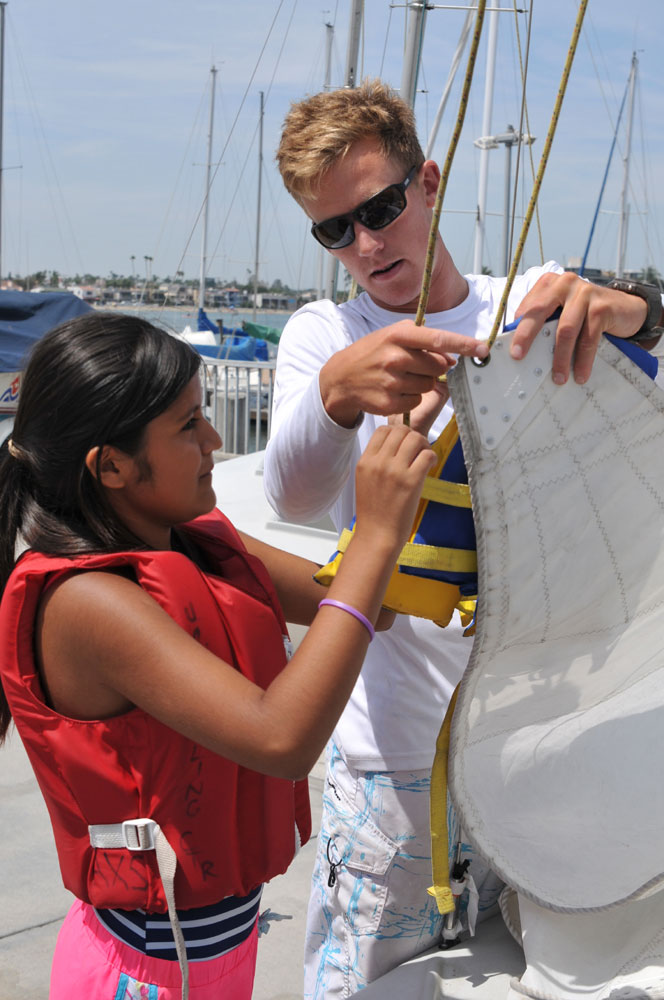 El Viento teams with US Sailing for lessons, STEM