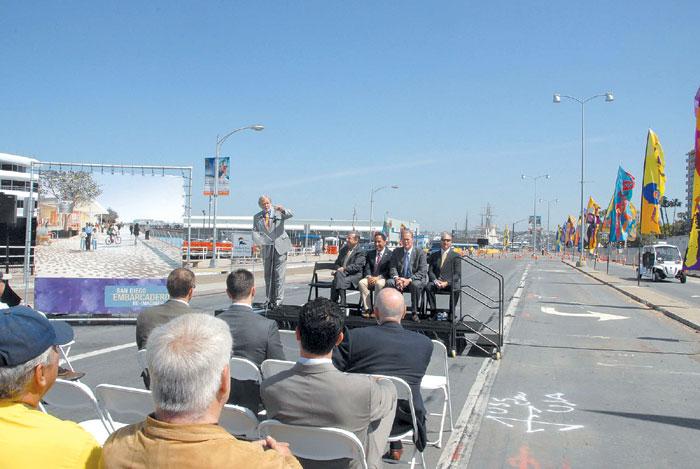 North Embarcadero Plan Now Under Way