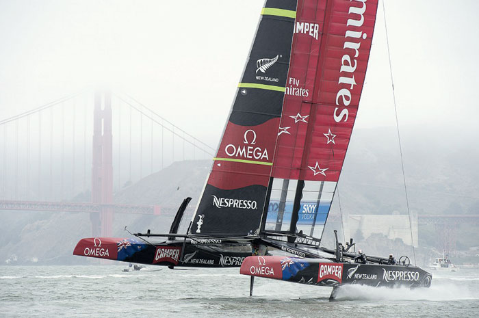 New Zealand to Face U.S. in America's Cup, Sept. 7