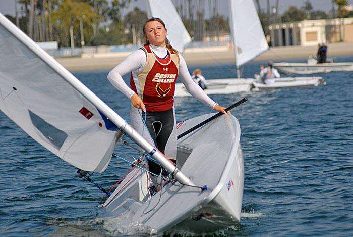 Charleston and Boston College Top Intercollegiate Sailing Championships
