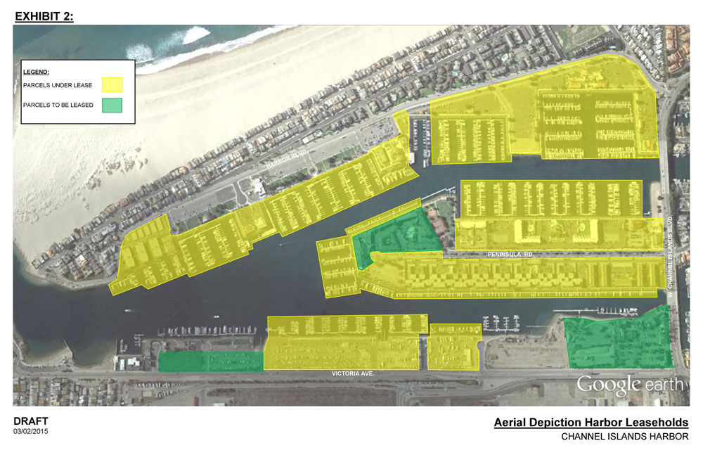 Channel Islands Harbor MOA revised by county supervisors