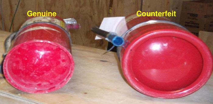 Counterfeit Fire Extinguishers Pose Safety Hazard