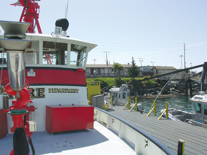 Port of Long Beach Purchases Two New Fireboats