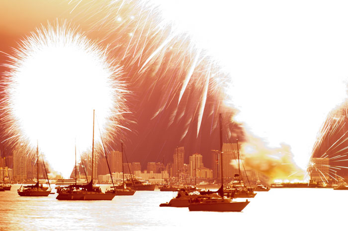Big Bay Boom Fireworks Show a Blowout
