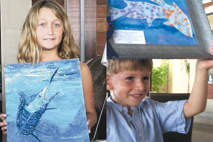 Chuck Byron FishOn! Event Features Youth Art and Fishing Fun