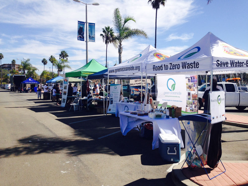 Oceanside Harbor cleanup helps slip renters dispose of unwanted items