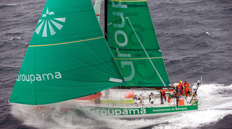 France's Groupama Wins Volvo Ocean Race Leg 8