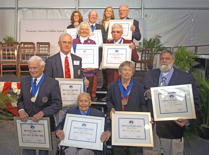 Frank Butler, Bill Buchan Join Sailing Hall of Fame