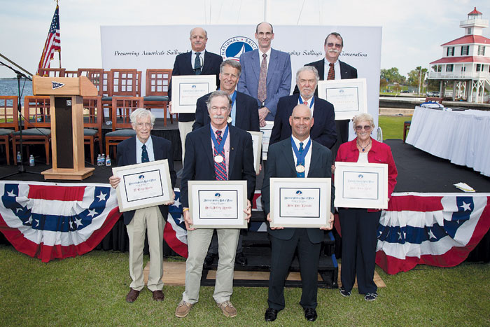 Nine Inducted into National Sailing Hall of Fame
