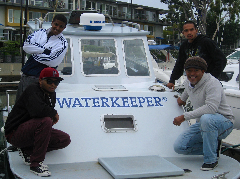 Defenders of marine life