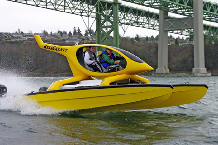 Super-Fast 22-foot HeliCat Coming to Newport Show