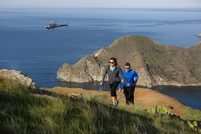 Catalina Plans Helicopter, Bike and Hike Expeditions