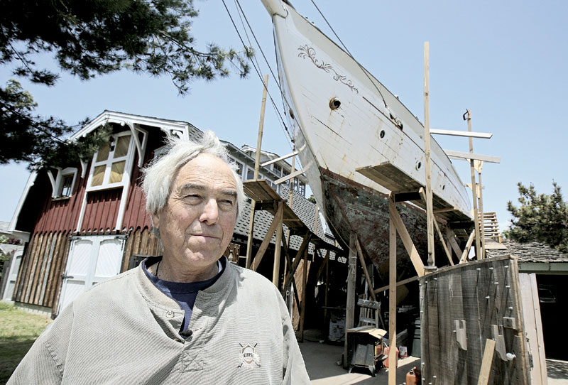 Newport Shipwright Ordered to Move Backyard Boat