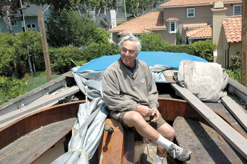 Shipwright to Restore Boat Out of Neighbors' Sight