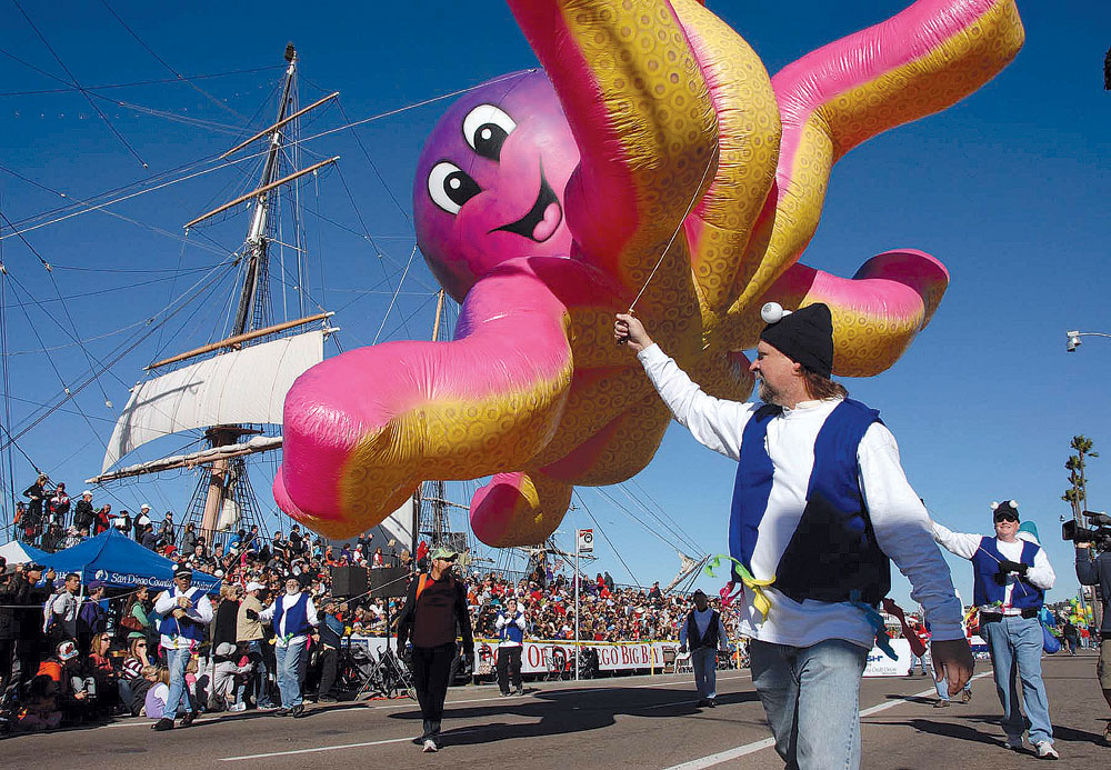 Big Bay Balloon Parade set for Dec. 26 on San Diego waterfront