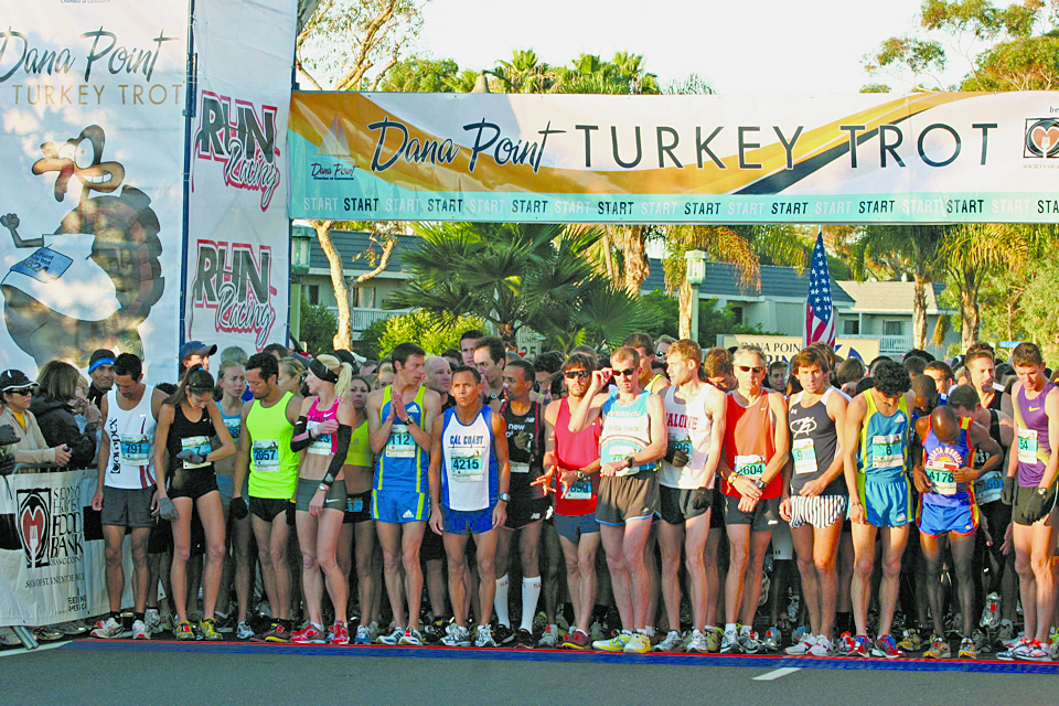 Turkey Trot to Benefit Local Marines, Food Bank