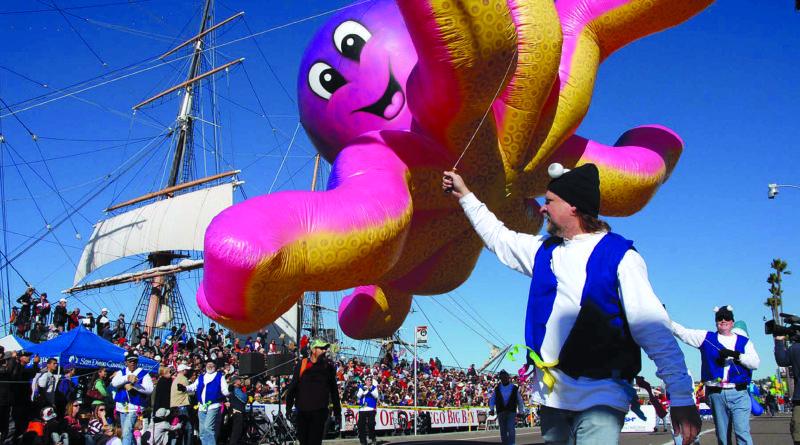 Balloon Parade Returns to San Diego Waterfront