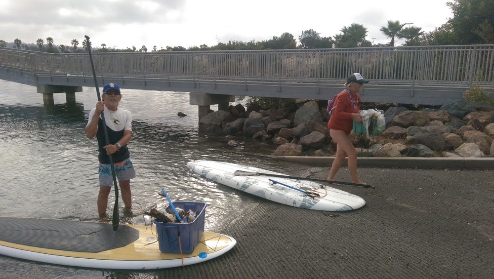 Volunteers lend a hand in Mission Bay's Clean the Bay 2014