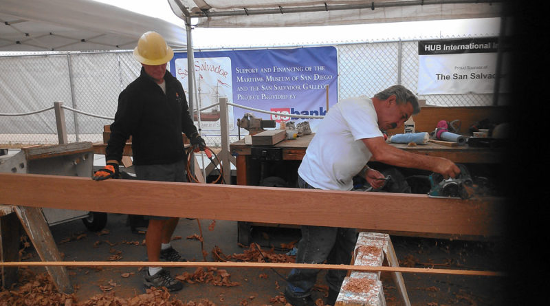 San Salvador receives final plank