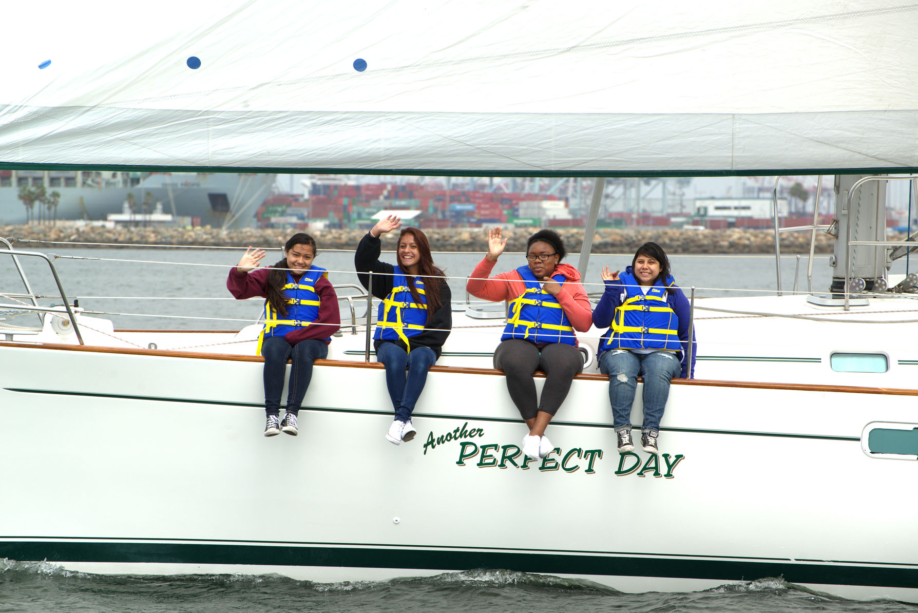 Panthers at Sea sail in annual event