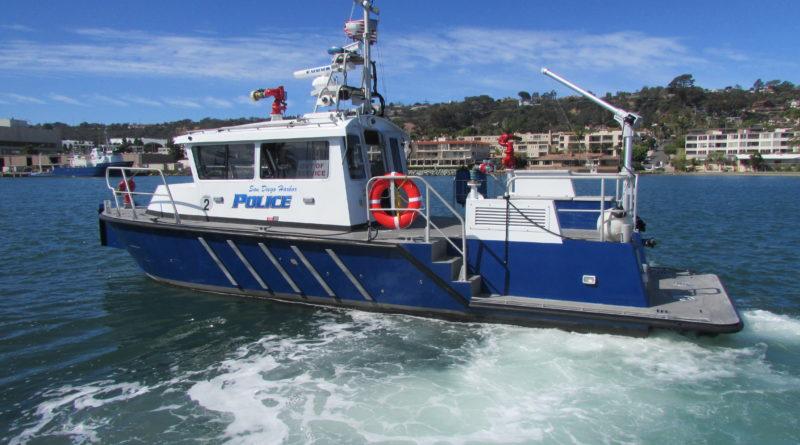 San Diego Harbor Police protect boaters, coastline